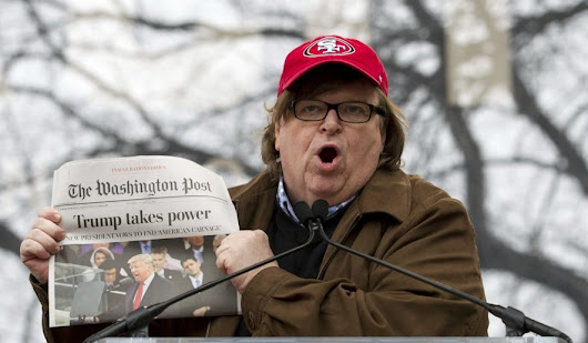 Useful idiot Michael Moore launches 'resistance' website promoting anti-Trump actions -- Sott.net