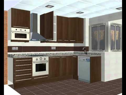Muebles para la sala: Diseño de cocinas online