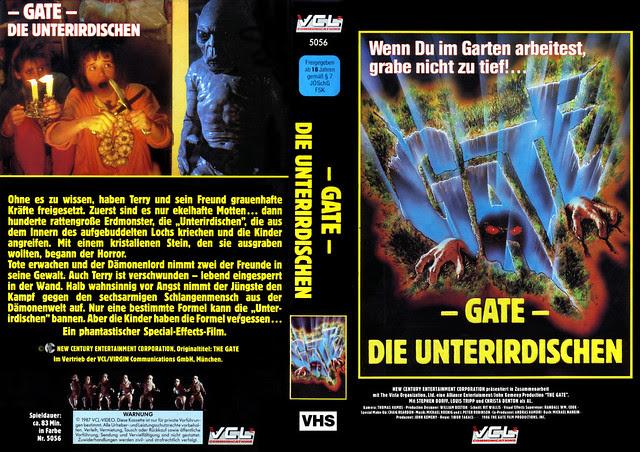 The Gate (VHS Box Art)