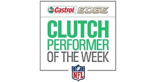NFL.com - Castrol Edge Clutch Performer of the Week