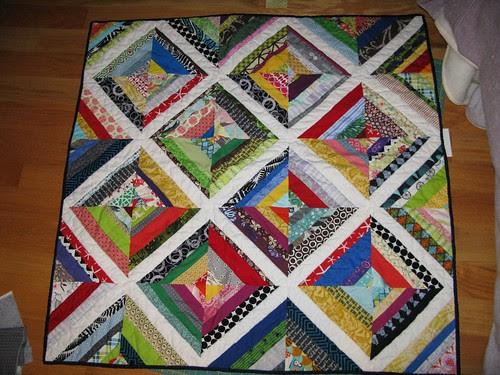 String block quilt