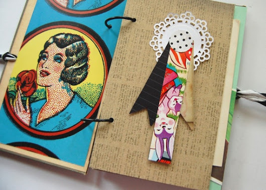 Junk journal, KItsch - Retro - Smash Book