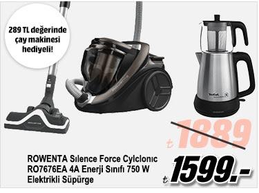 ROWENTA Sılence Force Cylclonıc RO7676EA 4A Enerji Sınıfı 750 W Elektrikli Süpürge 1599TL