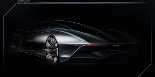 1,000hp hybrid hypercars are the next big thing, and McLaren's is called the BP23