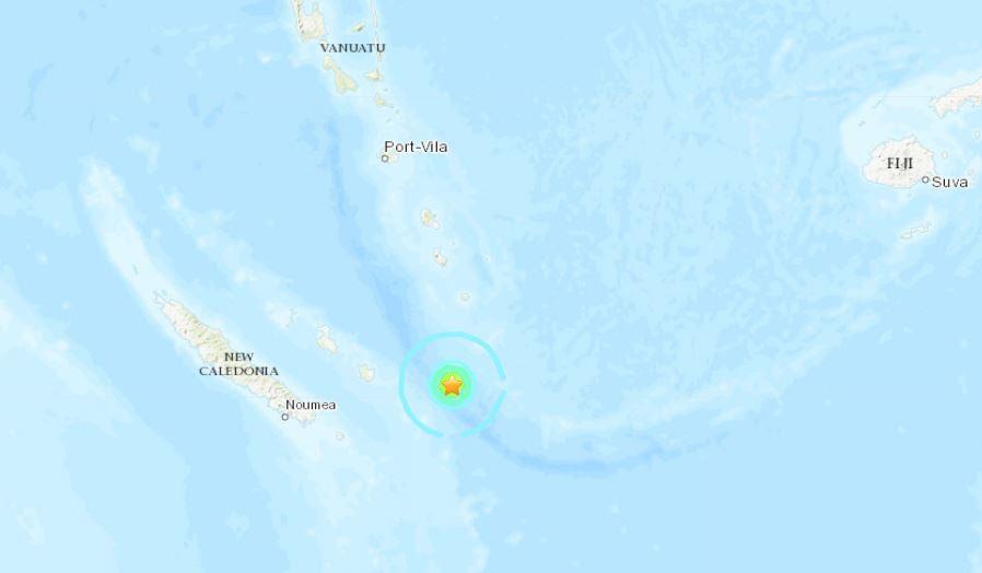 M6.0 σεισμός νέα caledonia μπορεί 19 2019, M6.0 σεισμός νέα caledonia μπορεί να 19 2019 χάρτη