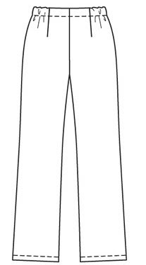 Burda 12-2007-127 Line Drawing