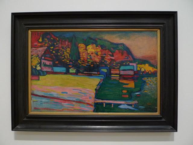 Wassily Kandinsky - Lake Starnberg (Tate Modern London ...
