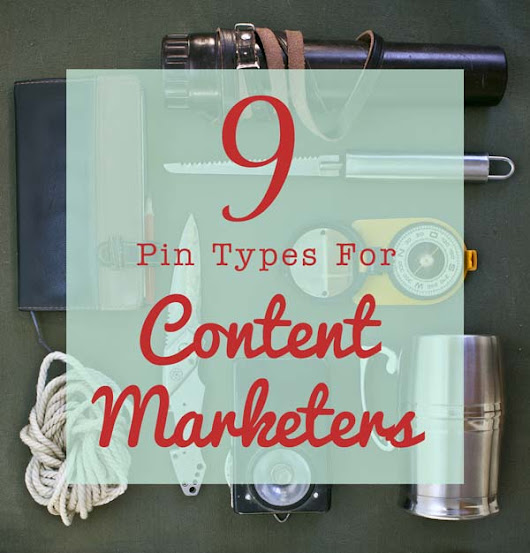 Types of Pins for Content Marketing on Pinterest