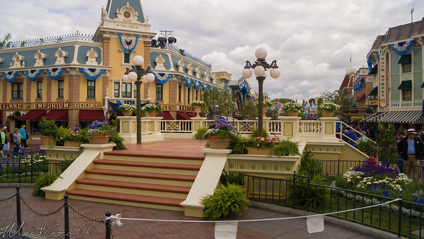 Disneyland Resort, Disneyland60, 60, Anniversary, 24, Hour, Party, Celebration, Kick, Off, Disneyland, Main Street U.S.A., Stage, Town, Square
