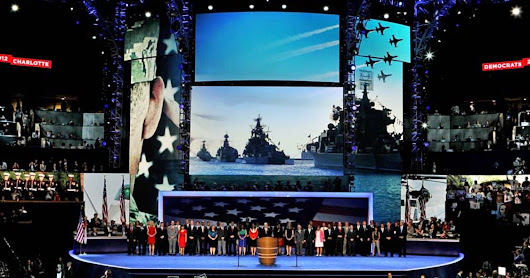 Russian ships displayed at DNC tribute to vets