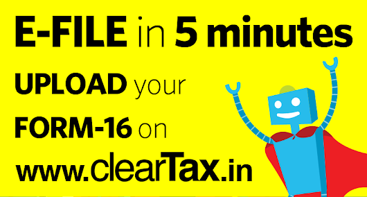 File Income Tax Return Online in India: ClearTax | e-Filing Income Tax in 15 minutes | Tax filing | Income Tax Returns | E-file Tax Returns for 2014-15