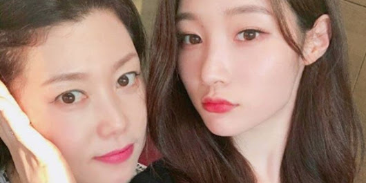 Jung Chae Yeon's mother gains attention for her stunning beauty