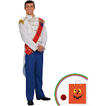 Charming Prince Adult Costume - 13539 - White - Standard One-Size