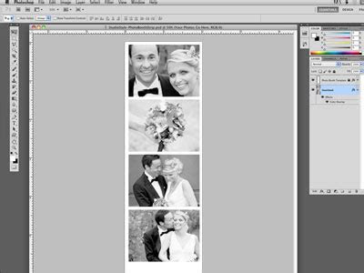 Photo Booth Strip Template For Photoshop Archives   The