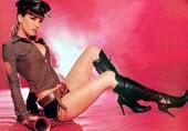 Natalia Oreiro Shorts Cortitos Con Botas