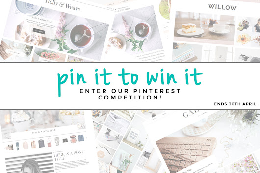 Pinterest Giveaway - Win a free pipdig theme!