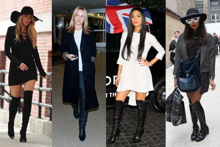 How to Wear Over-the-Knee Boots Without Looking Like Pretty Woman - Cosmopolitan