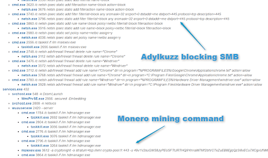 Adylkuzz Cryptocurrency Mining Malware Spreading for Weeks Via EternalBlue/DoublePulsar | Proofpoint