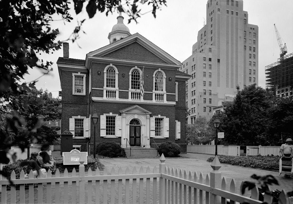 The first Continental Congress met at Carpenter's Hall in Philadelphia