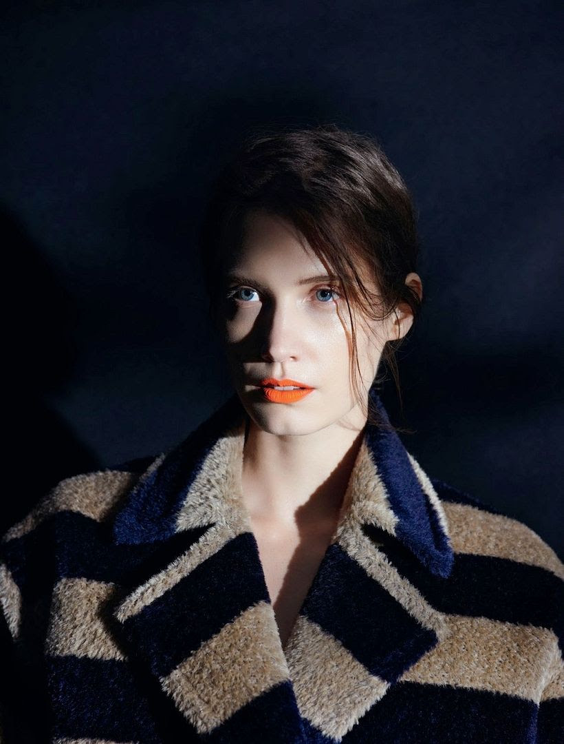 Le Fashion Blog Beauty Inspiration Matte Orange Lips Lipstick Make Up Striped Fuzzy Coat Via Muse Magazine photo Le-Fashion-Blog-Beauty-Inspiration-Matte-Orange-Lips-Lipstick-Make-Up-Striped-Fuzzy-Coat-Via-Muse-Magazine.jpg