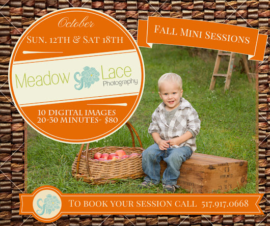 Fall Mini-Sessions: Now Booking!