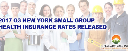 2017 Q3 New York Small Group Health Insurance Rates