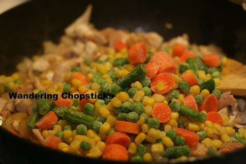 Tater Tot Casserole with Chicken Pot Pie Filling 6