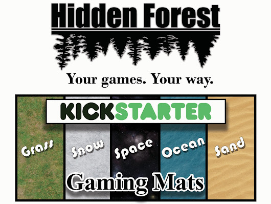 HiddenForestGaming Neoprene Tabletop Gaming Mats by HiddenForrestGaming —  Kickstarter
