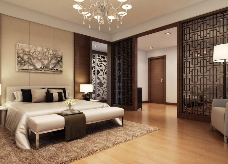Delightful Master Bedrooms with Hardwood Floors - Master ...