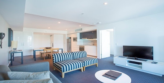 Gold Coast Private Apartments 1 Bedroom Apartment Level 3 at H Residences Building Surfers Paradise