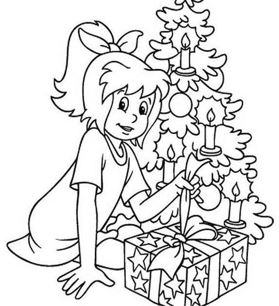 bibi blocksberg ausmalbilder weihnachten  malvorlagen
