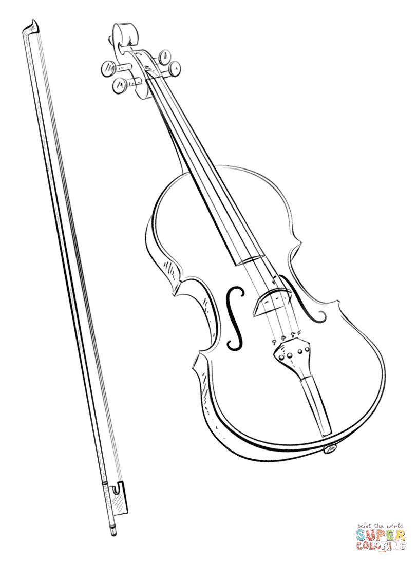 Disegni Di Musica Da Colorare Pagine Da Colorare Stampabili