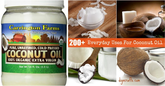 200 Brilliant Uses For Coconut Oil That Will Change Your Life Forever - DIY...