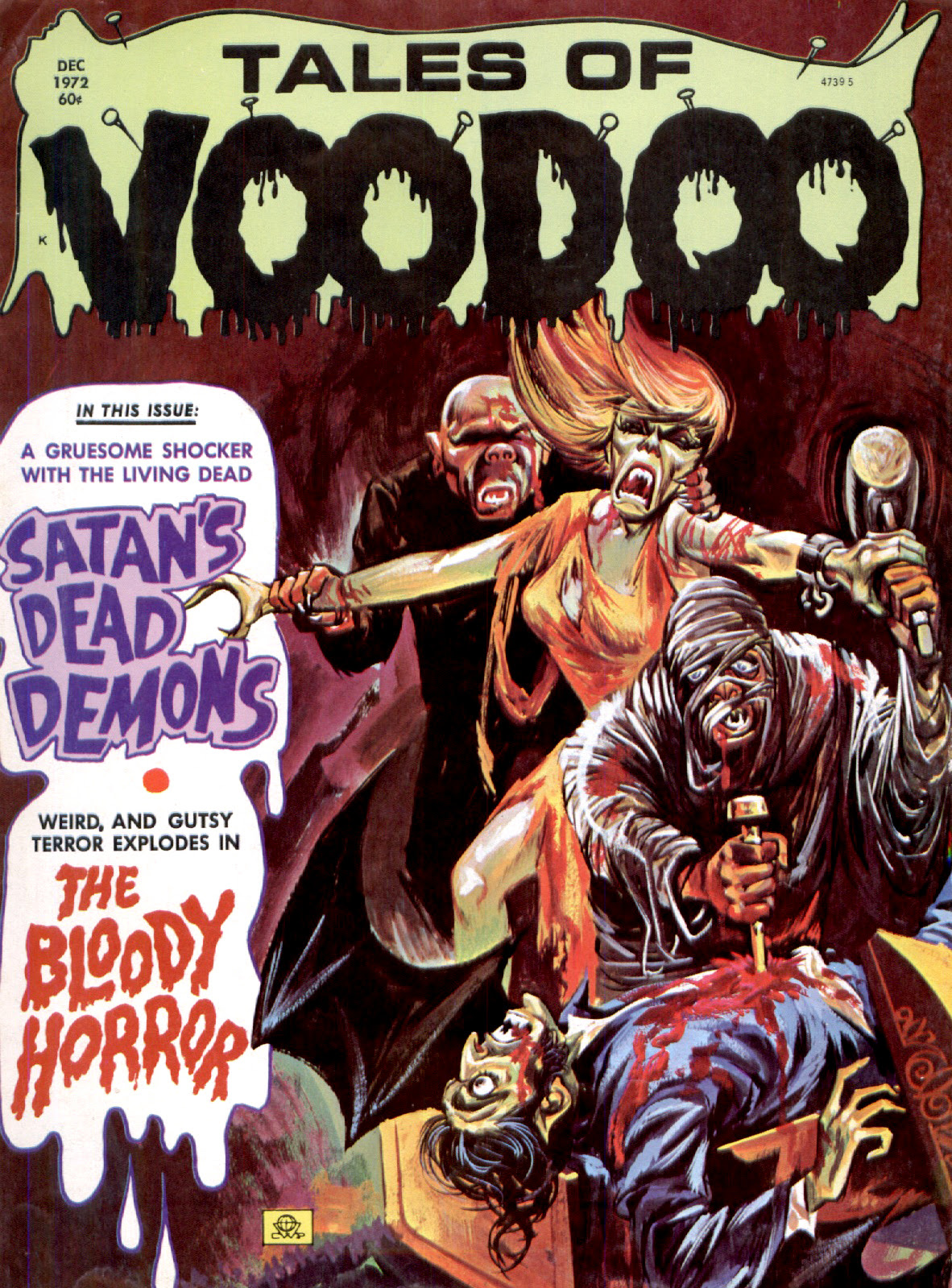 Tales of Voodoo Vol. 5 #7 (Eerie Publications 1972)