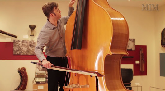 This is an Octobasse. It Makes a Cello Look Like a Violin