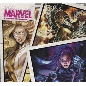 Women of Marvel 2013 Calendar