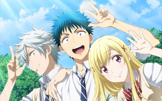 Descargar Yamada-kun to 7-nin no Majo - BluRay 1080p | +OVAs por MEGA - Japan Paw!