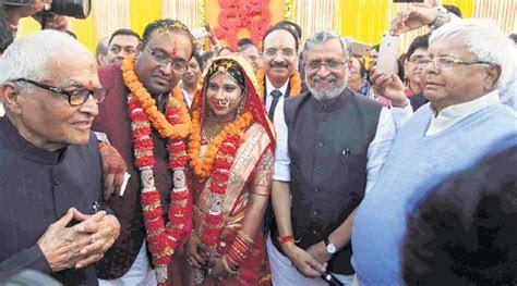 Lalu Yadav attends Sushil Modi son?s wedding: ?Told