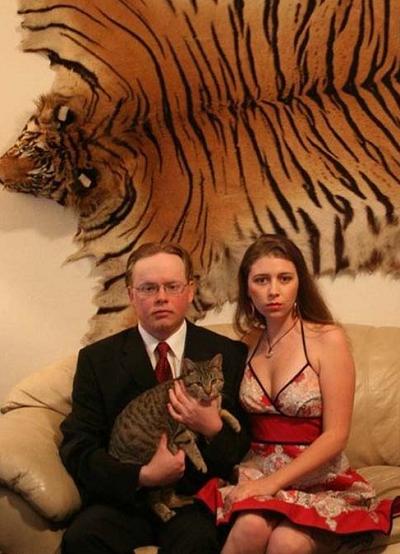 Киса, рви когти от этих любителей кошачьих! люди, маразм