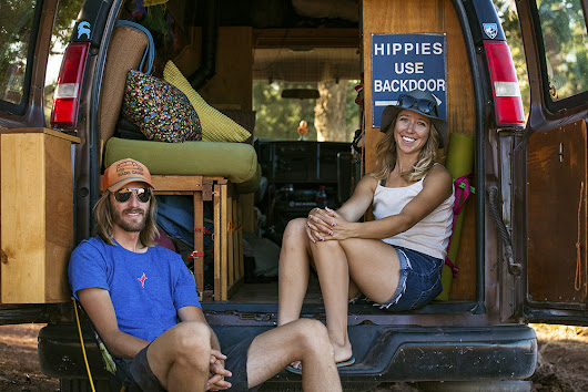 The Key To This Happy Marriage? Live In A Van