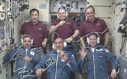 The Expedition 23 crew