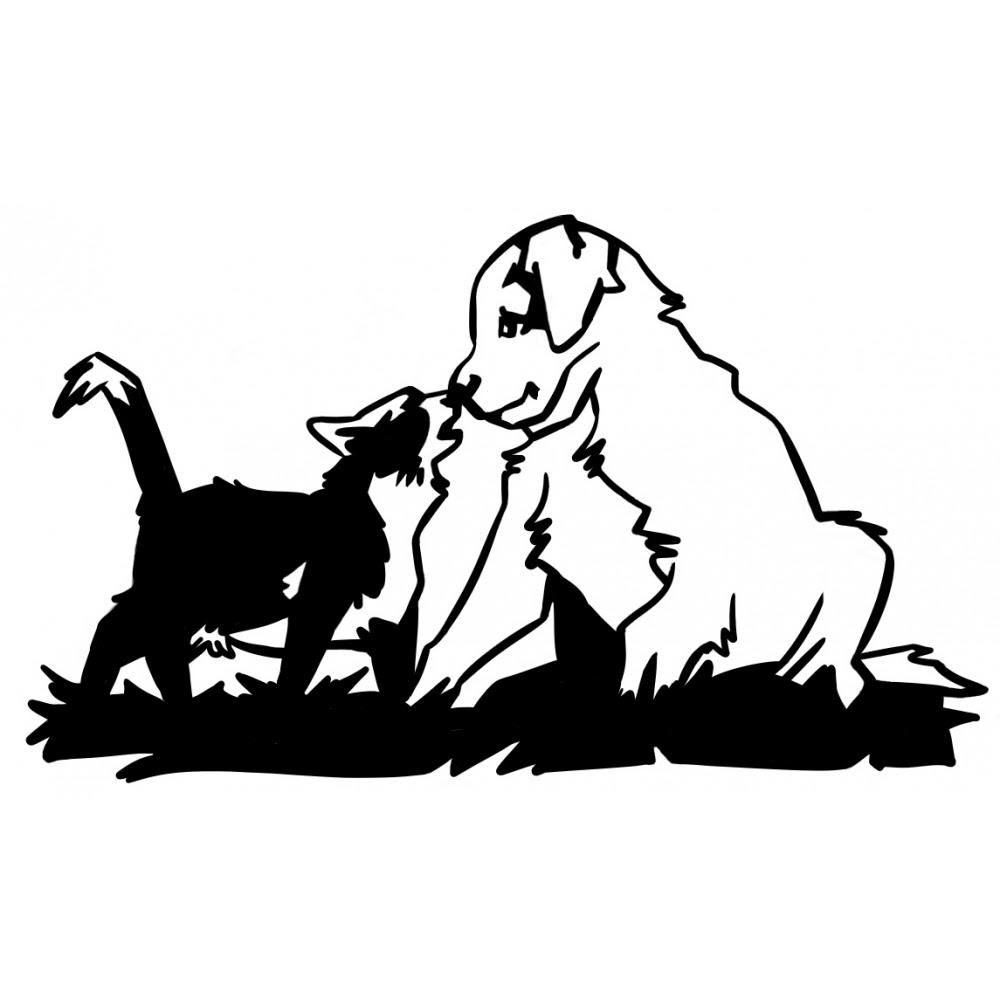 Coloriage  imprimer Animaux Chien numéro