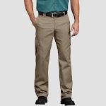 Dickies Men's Straight Cargo Pants - Desert Tan 32x32, Men's