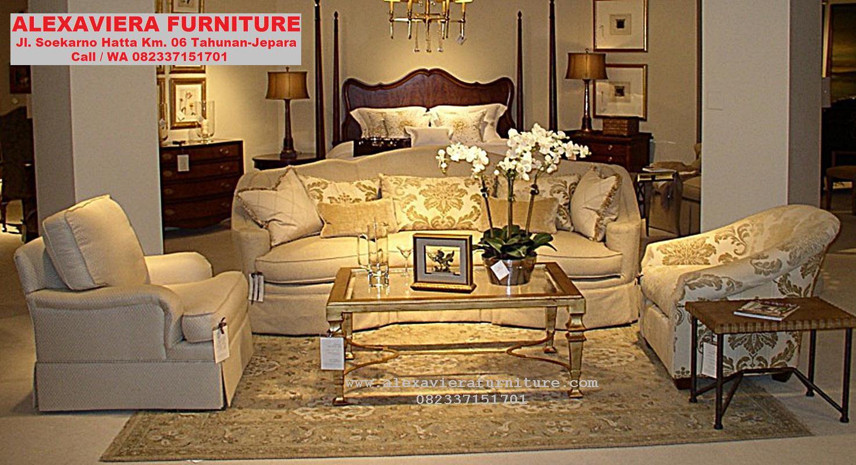 Set Sofa Ruang Tamu Terbaru Jepara Minimalis Modern KT 064 Set Sofa