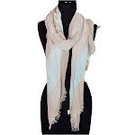 Alirina Women's Laies Fshion Long Super Large 3 Tone Segment Scarf Neck Scarves Shawl Wrap - Silver
