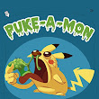 Puke-A-Mon: Pick-n-Chew by Cryptidzoo on Etsy