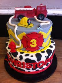 17 Best ideas about Firefighter Birthday Cakes on