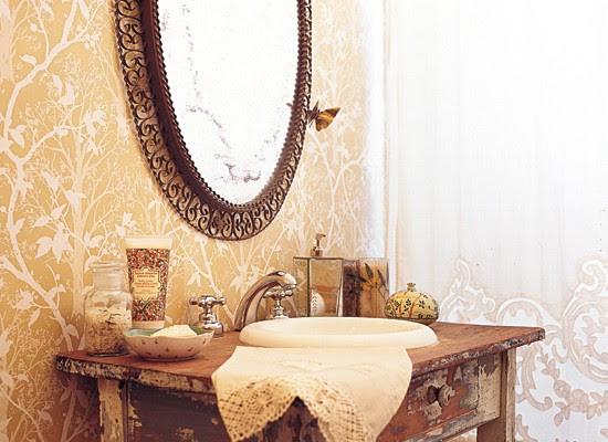 Decoracion: Espejos para el baño - Blog y Arquitectura