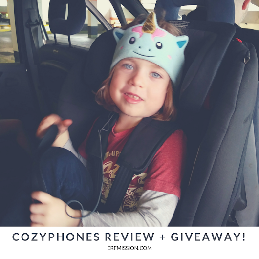 The Amazingly Cozy 'CozyPhones' Headphones Review + Giveaway! - A Rear Facing Family