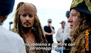 Video Pirati dei Caraibi: il dietro le scene di Salazar!